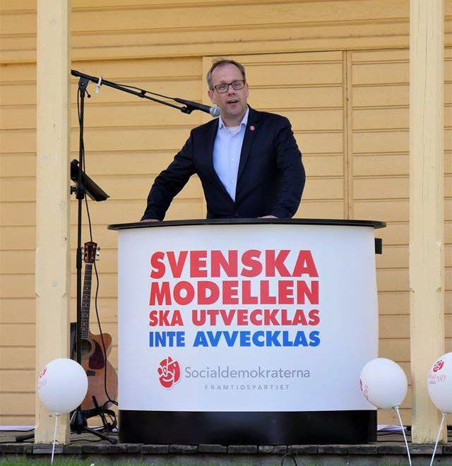 Michael Ländin (s) riksdagskandidat