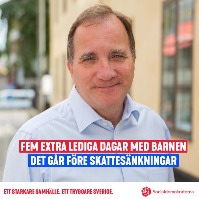 Stefan Löfven om familjeveckan